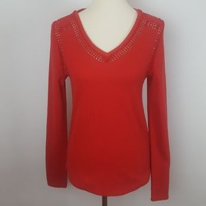 Lucky Brand Red Thermal Size Medium